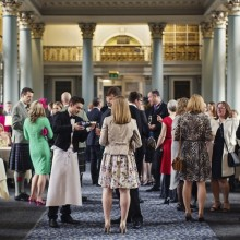 Drinks reception - photo credit Paul Raeburn Photography