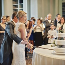 Wedding cake - photo credit Paul Raeburn Photography