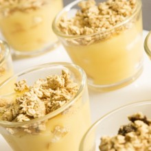 Delicious desserts for your Edinburgh conference