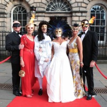 Mask Ball at the Signet Library