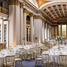 Weddings at the Signet Library, Edinburgh - photo credit Marc Millar Photography