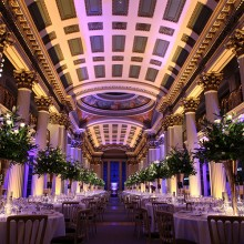 Impressive and memorable wedding venue - the Signet Library, Edinburgh