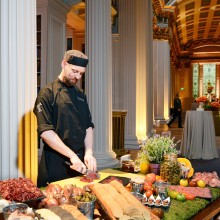 interactive buffet stations - corporate events