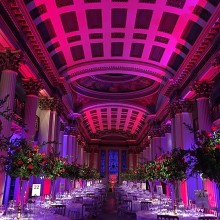 Corporate dinner at the Signet Library, Edinburgh
