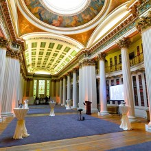 Drinks and canape receptions at the Signet Library, Edinburgh