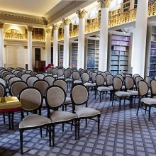 Wedding ceremony set up - Signet Library