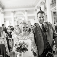 Wedding ceremonies in the lower library, Signet Library, Edinburgh