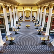 Lower Library event space - the Signet Library, Edinburgh