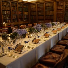 Intimate private dinner - Commissioners' Room