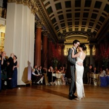Our dancefloor makes for the perfect 1st dance