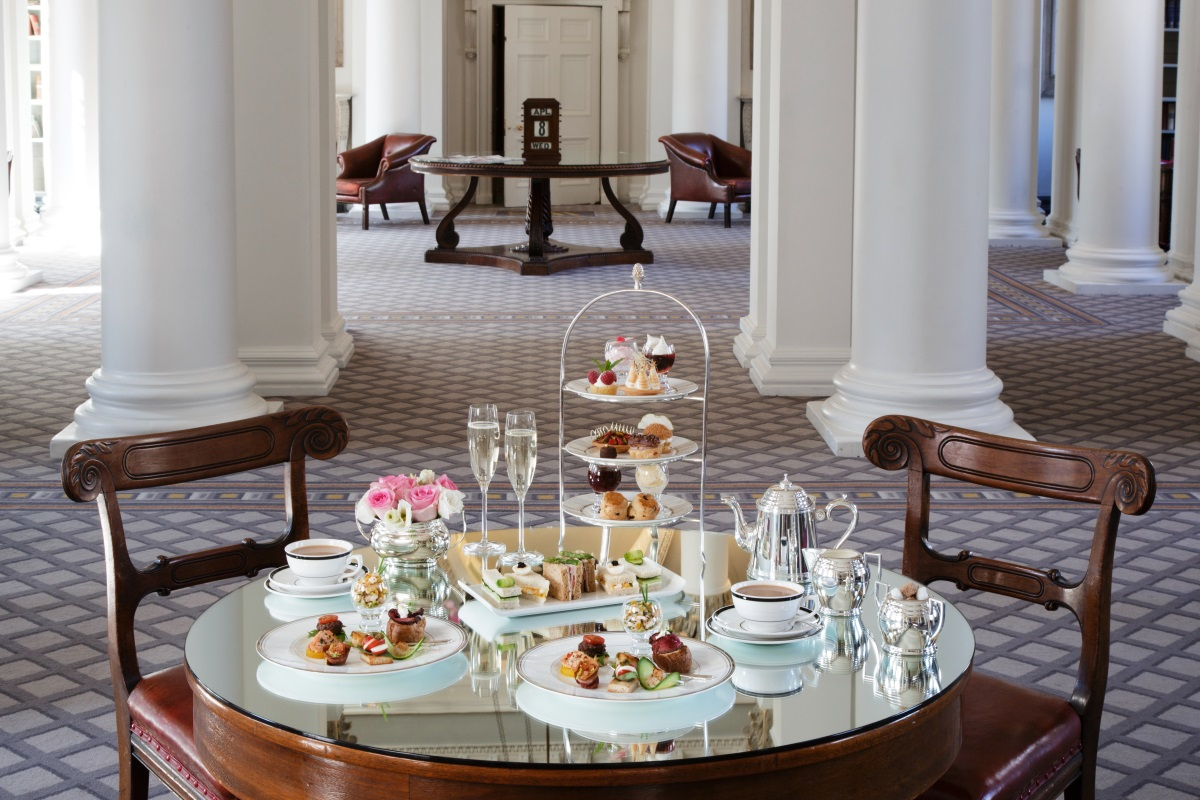 Afternoon Tea at the Colonnades