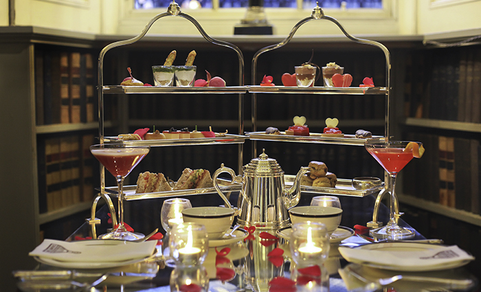 Love Afternoon Tea - available in February at Colonnades within the Signet Library
