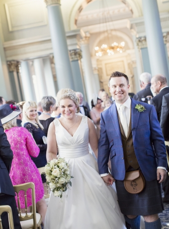 Summer Wedding Signet Library Edinburgh 8
