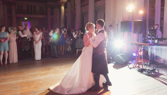 Summer Wedding Signet Library Edinburgh 15