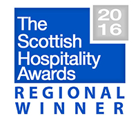 The Scottish Hospitality Awards 2016 Restaurant of the Year Winner - Colonnades at the Signet Library