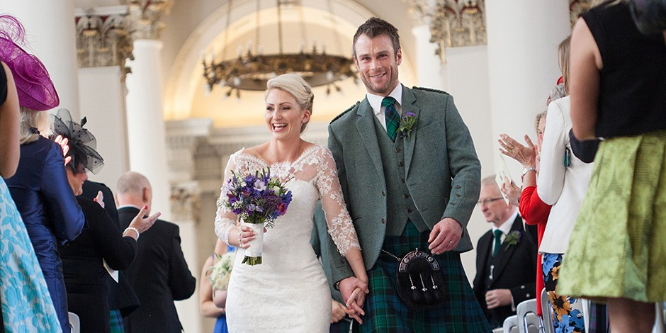 Timelessly elegant weddings at the Signet Library in Edinburgh