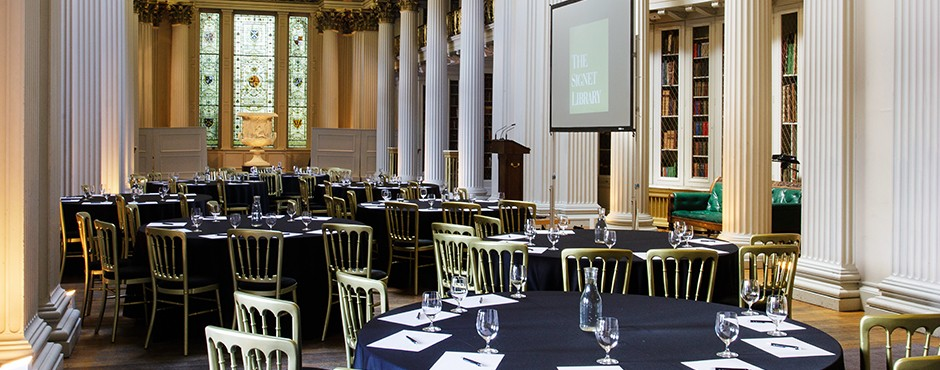 Dramatic and flexible conference spaces - the Signet Library in Edinburgh