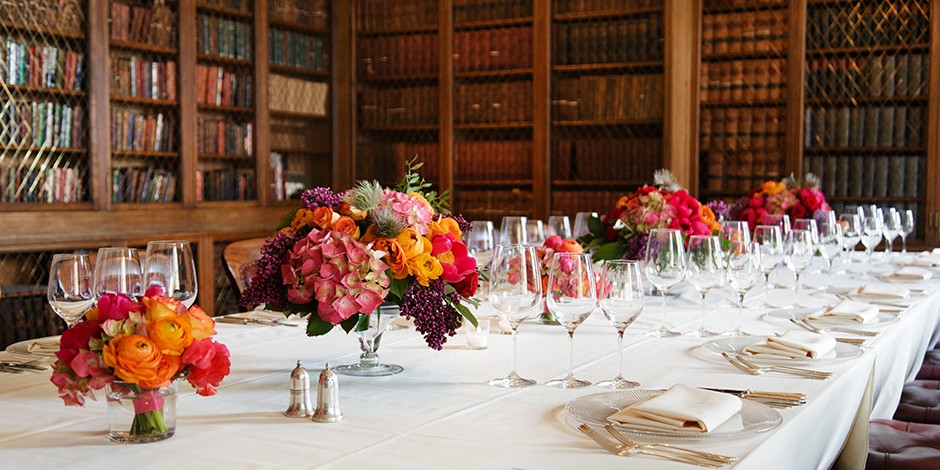 Exclusive private dining with award-winning food and drink - the Signet Library, Edinburgh