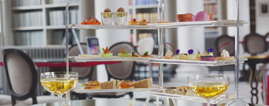Edinburgh's Best Afternoon Tea - Colonnades at the Signet Library
