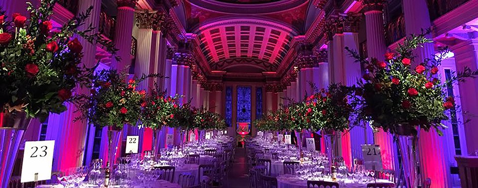 Gala dinners at the Signet Library, Edinburgh